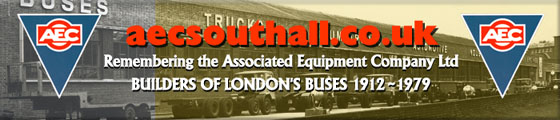 AEC's Blue Triangle symbol [� AEC Ltd] is reproduced by kind permission of The British Commercial Vehicle Museum Trust.