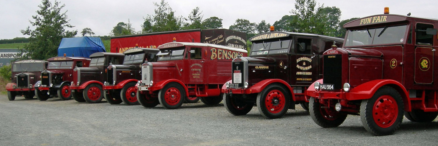 Scammell Showtrac line-up
